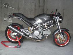 Ducati Mistral Ausp Monster Carbon Oval Flach Eg Abe Stein Dinse