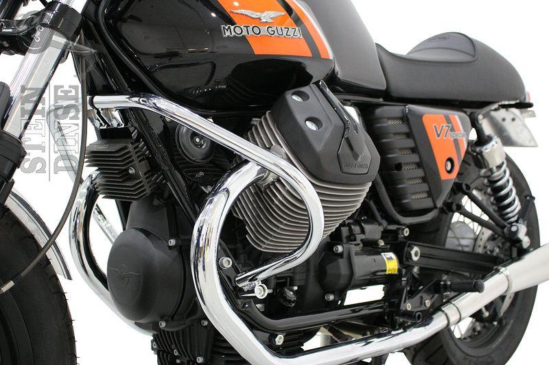 Crashbar front V7 Serie I & II, V9 Bobber, chrome