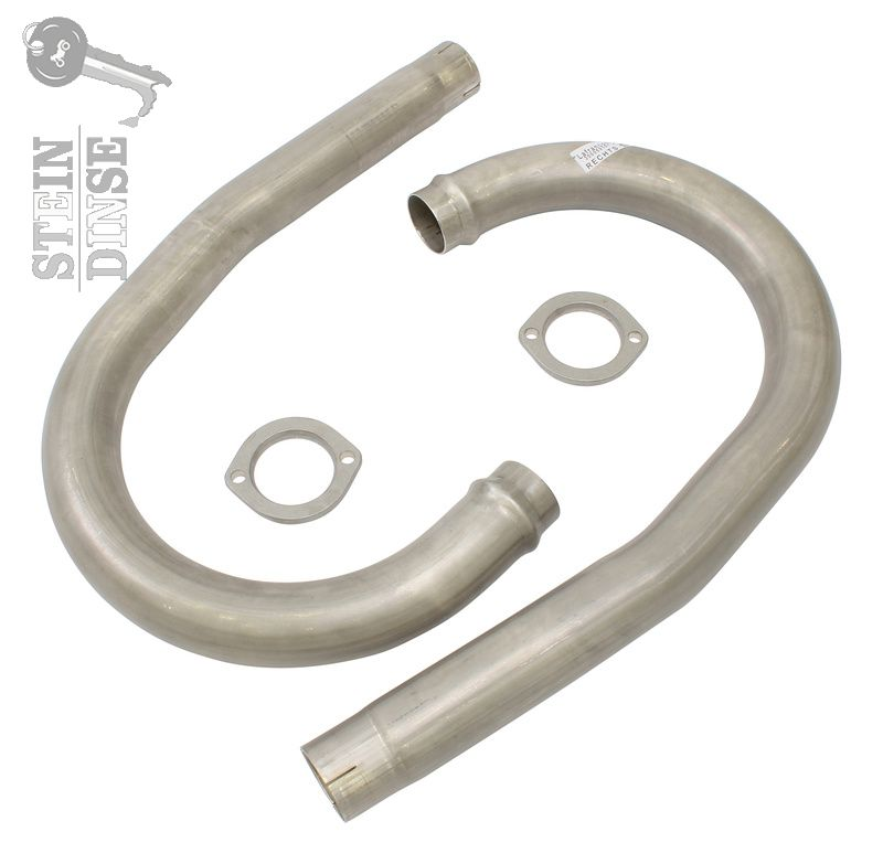 Exhaust pipe kit 48mm LM 1,2 40 inox