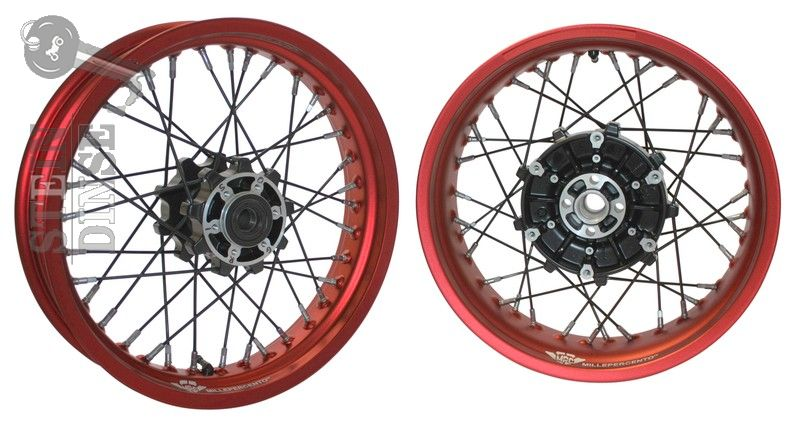 Mpc Spoken Wheel Kit Redblack Griso 17 Inch Stein Dinse Online Shop
